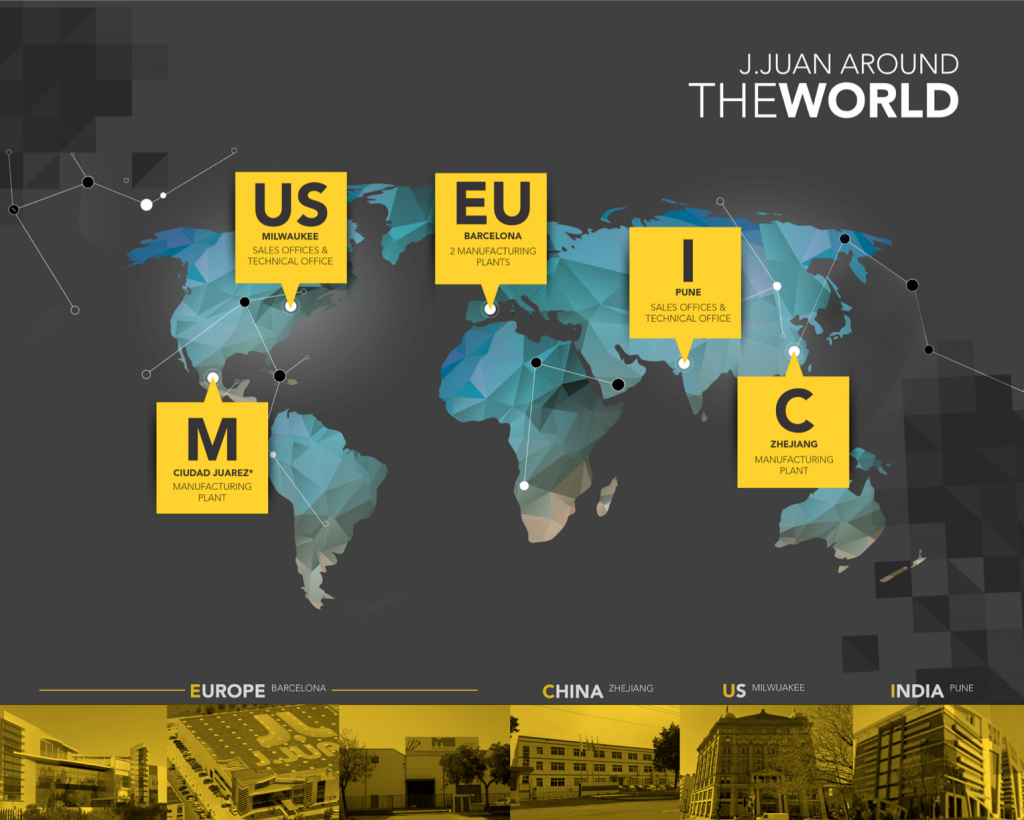 J.Juan around the world