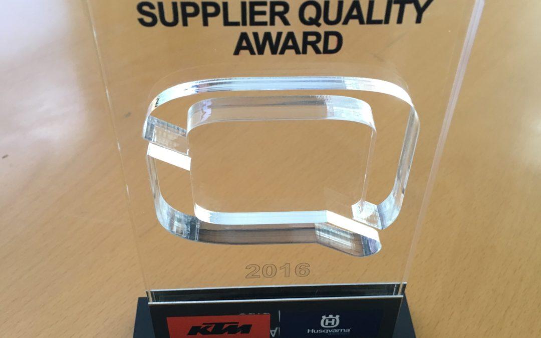 KTM premia a J.Juan con la Q de 'Quality'