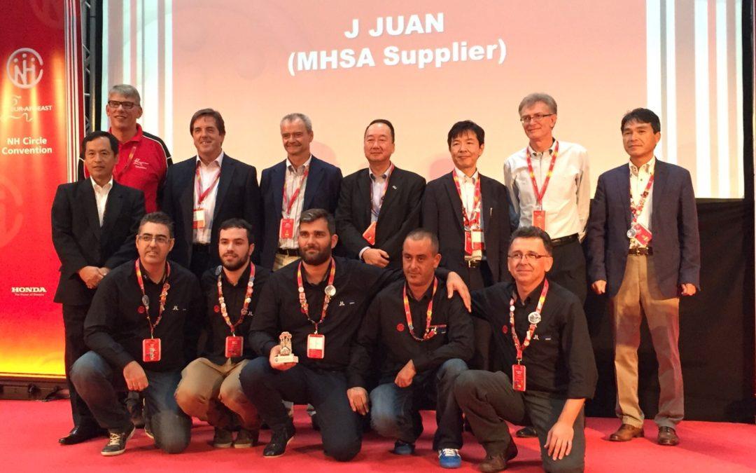 Honda invita a J.Juan a su círculo de calidad en Polonia