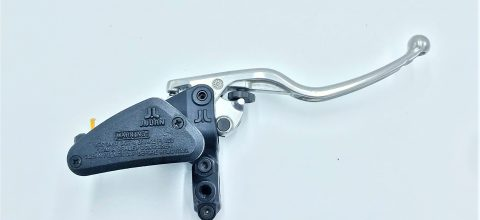 Right hand axial master cylinder with regulable lever. Integrated translucent reservoir (2).1