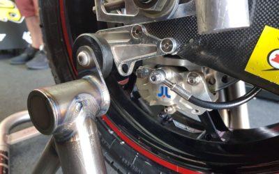 El producto J.Juan para Moto2 recibe valoraciones más que positivas