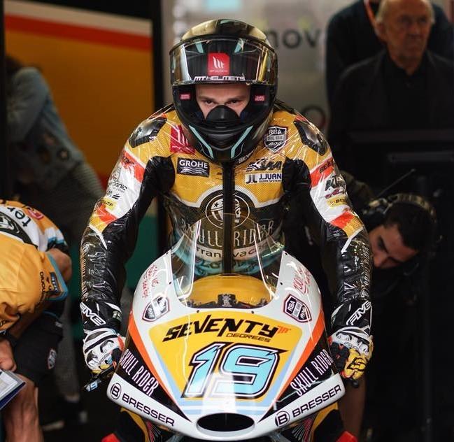 El Mundial cuenta con cinco motos equipadas por J.Juan