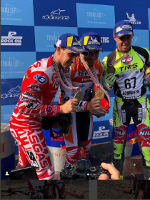 Braktec conquers the full final podium in the World GP Trial Championship and it is already …