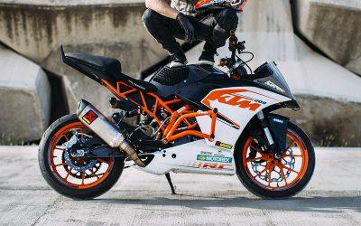 Rok Bagoros confía en los frenos J.Juan para sus KTM stunt