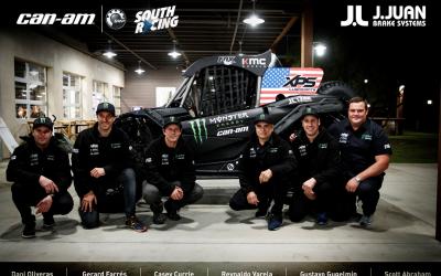 J.Juan equipará los frenos de los Can Am oficiales, favoritos a ganar el Dakar