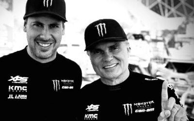 J.JUAN mantiene su dominio en la categoría SxS al conquistar el podio completo en el Manateq Qatar Cross-Country Rally Qatar en Can-Am Maverick X3!