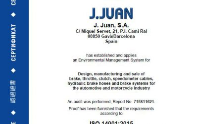 THE ENVIRONMENTAL AUDIT GIVES AN EXCELLENT SCORE TO J.JUAN