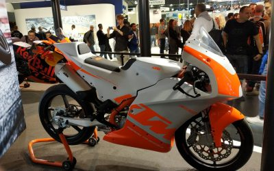 THE KTM RC4R PRESENTED AT EICMA WILL CARRY J.JUAN BRAKES ON ALL CONTINENTS