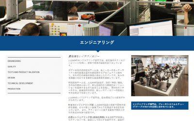 J.Juanのウェブが日本語でも閲覧可能に