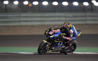 Primer podium de MotoGP del año para J.Juan con Zarco de Hublot Avintia