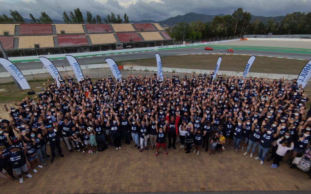 J.Juan realizó el primer evento mundial en un circuito del Mundial desde el inicio del COVID